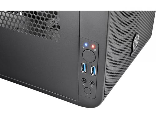 Thermaltake Core V1 MiniITX IS USB3.0 Window (1x200mm), czarna