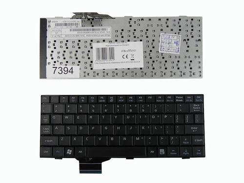 Qoltec Klawiatura do notebooka ASUS EPC 900 BLACK