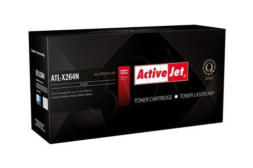 ActiveJet ATL-X264N toner Black do drukarki Lexmark (zamiennik Lexmark X264H11G) Supreme