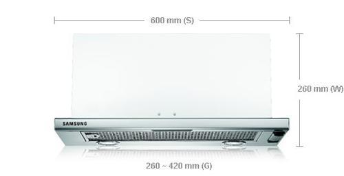 Samsung Okap teleskopowy HB6247SX