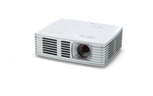 Acer PJ K135 DLP WXGA/500AL/10.000:1/0.43kg HDMI USB SD (opcja bezprzewodowej komunikacji)
