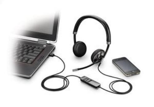Plantronics Blackwire C520-M A2DP, DSP, USB