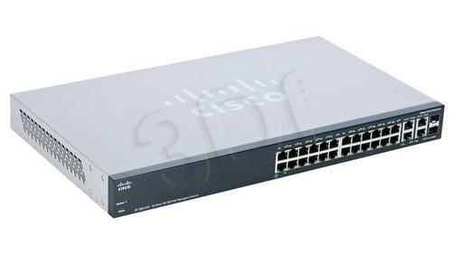 CISCO SRW224G4P-K9-EU 24x10/100 / 2xGiga/2xCombo