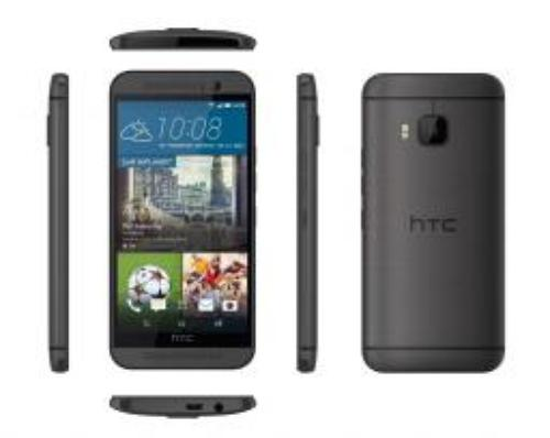 HTC One M9 Gunmetal (99HADF125-00)