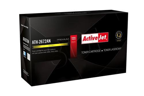 ActiveJet ATH-2672AN żółty toner do drukarki laserowej HP (zamiennik 309A Q2672A) Premium
