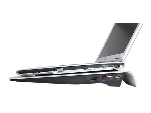 Zalman Podstawka chłodząca pod Notebook ZM-NC1000 (Czarna)