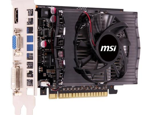 MSI GeForce CUDA GT730 4GB DDR3 128bit HDMI/DVI-I/D-Sub BOX