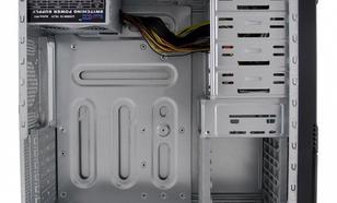 LC-Power OBUDOWA CASE-PRO-925B MIDITOWER/2xUSB 2.0/1xUSB 3.0/CZARNA/HD-AUDIO/ 600W LC600H-12