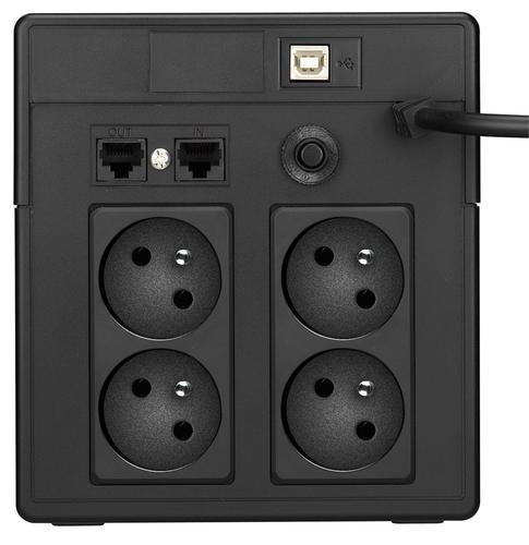 Lestar UPS V-1000FF AVR LCD 4xFR USB RJ 45