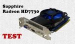 Sapphire Radeon HD7730 test i zastosowanie karty graficznej