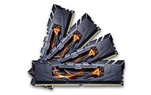 G.SKILL DDR4 32GB (4x8GB) Ripjaws4 2133MHz CL15 XMP2 Black