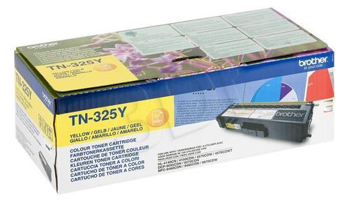 BROTHER Toner Żółty TN325Y=TN-325Y, 3500 str.