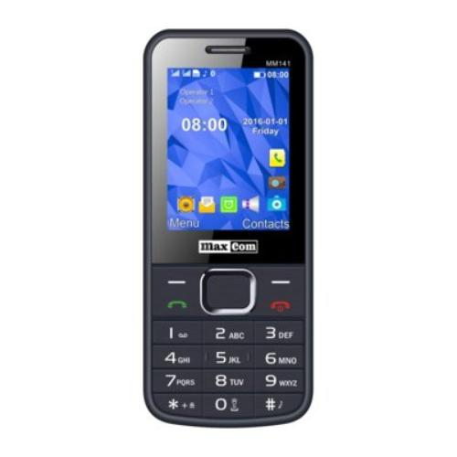 Maxcom MM 141 SZARY TELEFON GSM