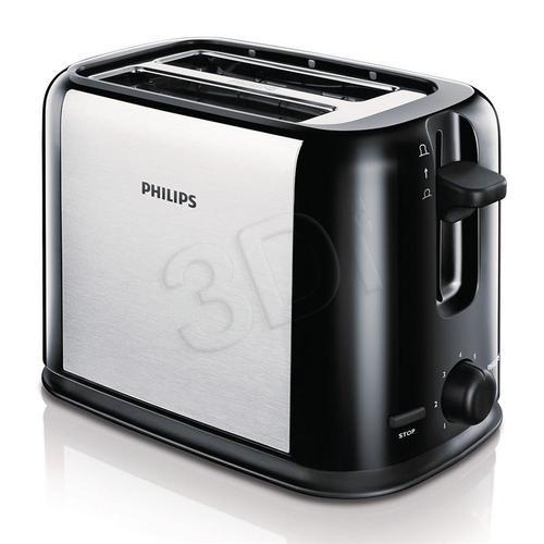 Toster Philips HD2586/20 (950W/Inox-czarny)