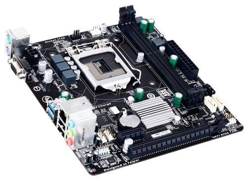 Gigabyte GA-H81M-S s1150 H81 2DDR3 USB3/GLAN uATX