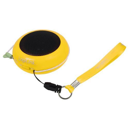 LogiLink Przenośny do Mp3/telefonu - żółty