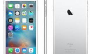 Apple iPhone 6s Plus 64GB Srebrny (MKU72PM/A)