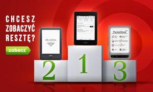Zestawienie Czytników E-Booków - TOP 10 Lipiec 2015