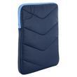 4World Etui z pluszem wertykalne | tablet | 270x210x25mm | 10.1'' | granatowo-błękitne