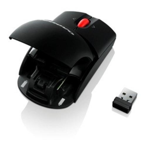 Lenovo Laser Wireless Mouse (2.4 GHz micro-size USB receiver) 0A36188