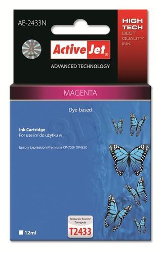 ActiveJet AE-2433N tusz magenta do drukarki Epson (zamiennik Epson T2433) Supreme