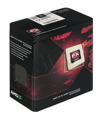 AMD X8 FX-8320 3.5GHz BOX(AM3+)(125W,16MB)