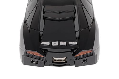 Quer samochód USB/TF card/AUX/FM radio/LCD MP3 model 1
