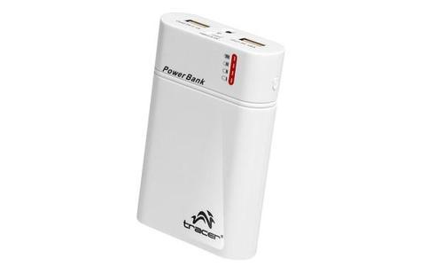 Tracer Power bank 8400 mAh biały