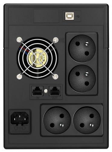 Lestar UPS V-2000FF AVR LCD 4xFR USB RJ 45