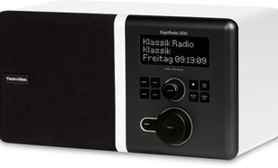 TECHNISAT DigitRadio300 CYFROWE DAB+,FM BIAŁE