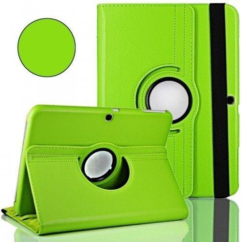 "WEL.COM Etui obrotowe 360° Galaxy Tab 3 10"" P5200/P5210 zielone"