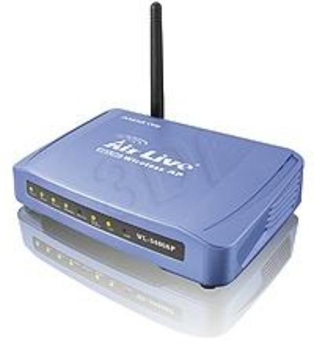 OVISLINK AirLive [ WL-5460AP v2 ] Access Point 54Mbps 802.11g [ Menadżer Pasma, Moc 20dBm ][ 2x LAN ]