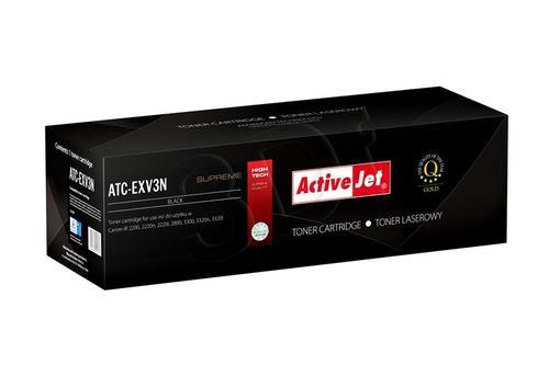 ActiveJet ATC-EXV3N czarny toner do drukarki laserowej Canon (zamiennik C-EXV3) Supreme