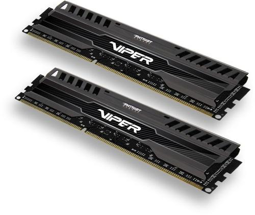 Patriot DDR3 8GB (2x4GB) Viper 3 1600MHz CL9 XMP