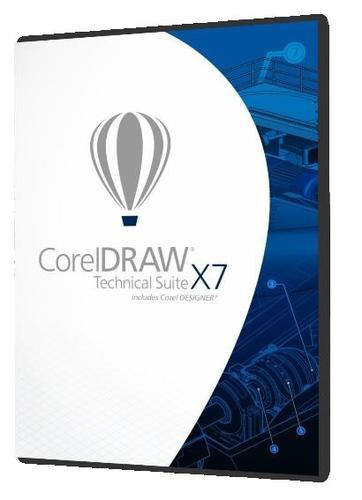 Corel CorelDRAW Tech.Suite X7 ENG/FR/DE CDTSX7MLDVD