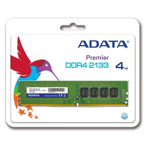 A-Data Premier DDR4 2133 DIMM 4GB CL15 Single Tray