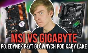 Płyty Główne Pod Kaby Lake? -  MSI Z270 GAMING PRO CARBON vs Gigabyte AORUS GA-Z270X-Gaming 5!