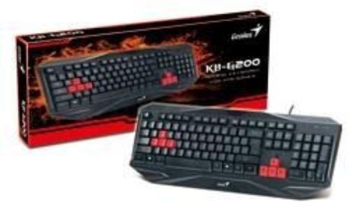 Genius KB-G200 gaming keyboard