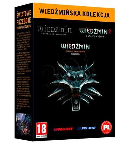 Wiedźmińska Kolekcja: Wiedźmin + Wiedźmin 2 + audiobook