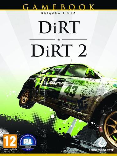 Gamebook Colin Mc Rae: Dirt + Dirt 2 (książka + 2 gry PC)