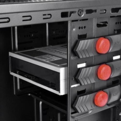 Thermaltake Versa G2 USB3.0 Window (120mm, LED), czarna
