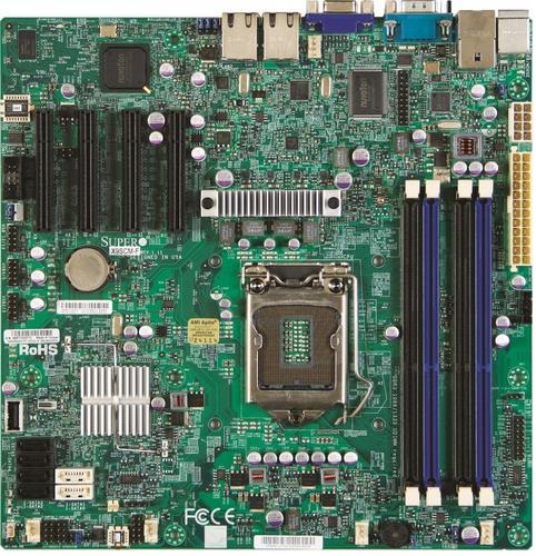 Supermicro Płyta serwerowa X9SCM-F MBD-X9SCM-F-O