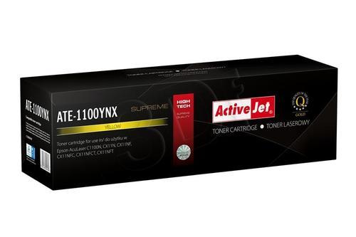 ActiveJet ATE-1100YNX żółty toner do drukarki laserowej Epson (zamiennik C13S050187) Supreme