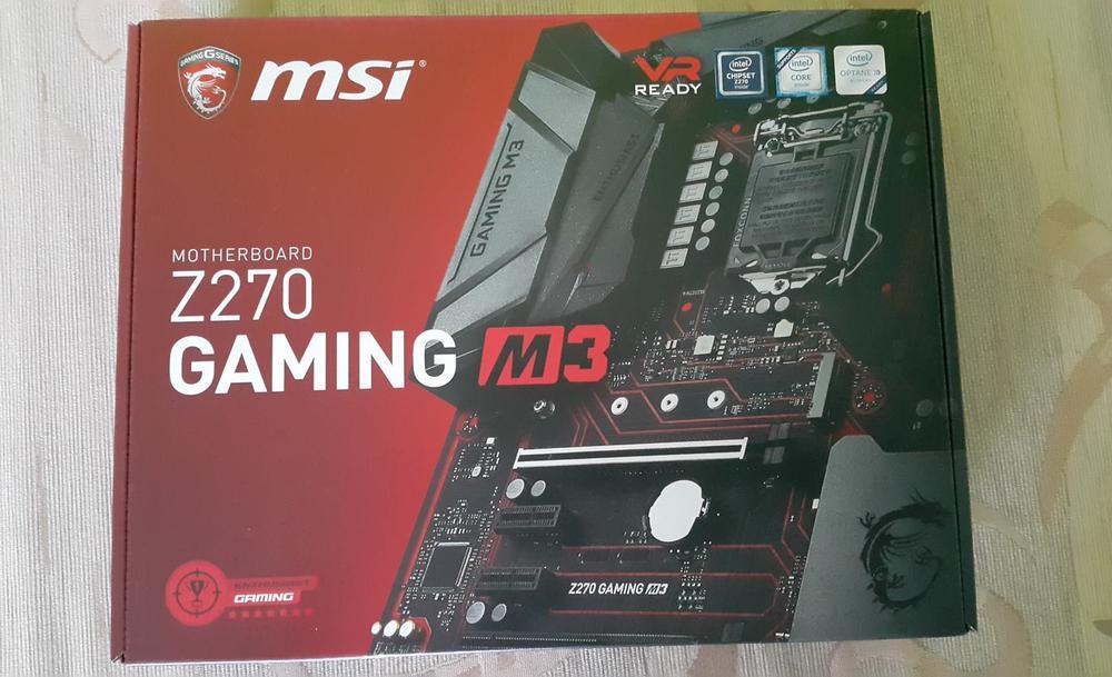 MSI Z270 Gaming M3 Pudełko Przód