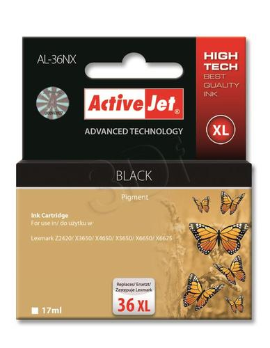 ActiveJet AL-36NX tusz czarny do drukarki Lexmark (zamiennik Lexmark 36XL 18C2170) Supreme