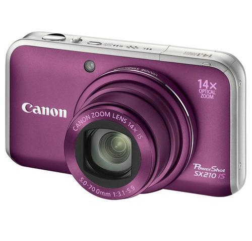 CANON PowerShot SX210 (PURPUROWY)