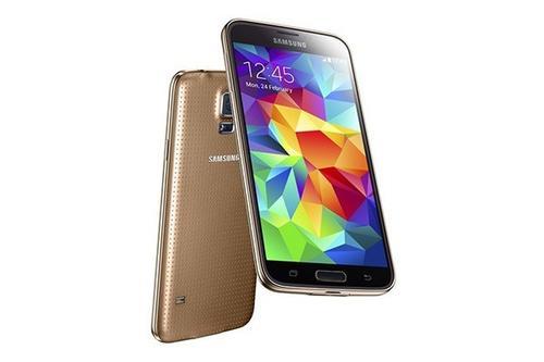 Samsung GALAXY S5 mini G800H WHITE GOLD DS