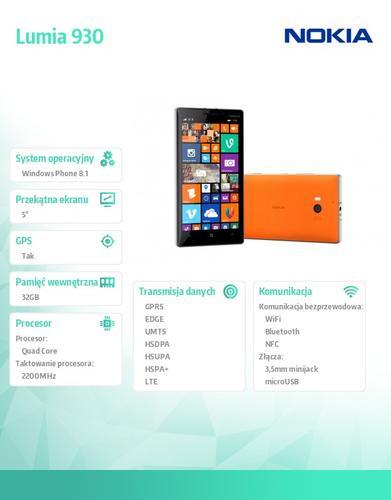 Nokia Lumia 930 Bright Orange Win 8