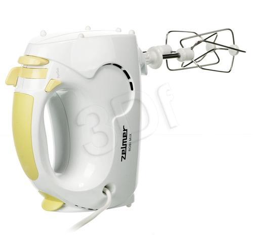 Mikser ręczny Zelmer ZHM0807L(Mix Robi 381.7) (400W/biało-żółty)