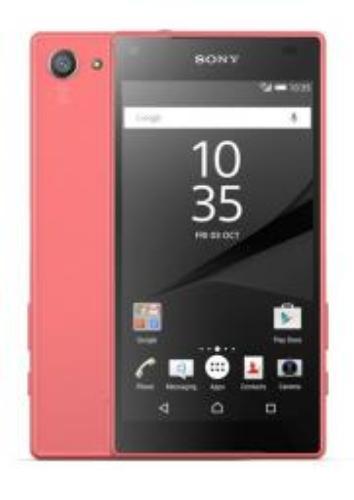 Sony Xperia Z5 Compact 32GB Czarno-różowy
